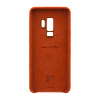 EF-XG965ARE Samsung Alcantara Cover Red pro G965 Galaxy S9 Plus (EU Blister) 8801643098988