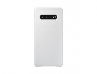 EF-VG975LWE Samsung Leather Cover White pro G975 Galaxy S10 Plus 8801643644406