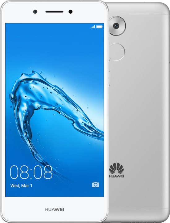Huawei Nova Smart, Dual Sim, stříbrná (CZ DISTRIBUCE)