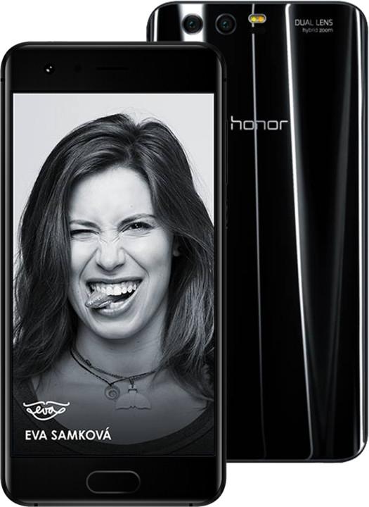 Honor 9 4GB/64GB Dual SIM Black (CZ DISTRIBUCE)