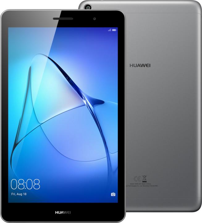 Huawei MediaPad T3 10.0 WiFi 16GB, šedý (CZ DISTRIBUCE)