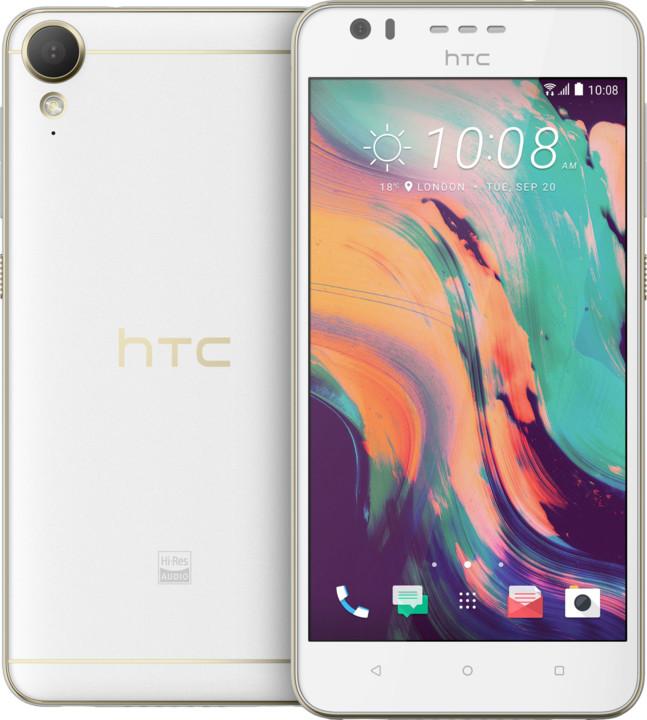 HTC Desire 10 Lifestyle, bílá (česká distribuce)