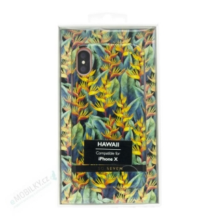 SoSeven Hawai Case Tropical Yellow Kryt pro iPhone X/XS 3663111126419