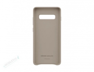 EF-VG975LJE Samsung Leather Cover Gray pro G975 Galaxy S10 Plus (EU Blister) 8801643644451