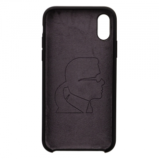 KLHCPXSLFKBK Karl Lagerfeld Full Body Iconic Hard Case pro iPhone X/XS Black 3700740441879