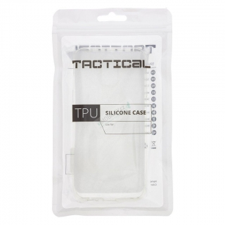 Tactical TPU Kryt pro Samsung Galaxy A41 Transparent 8596311109416