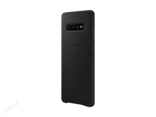 EF-VG975LBE Samsung Leather Cover Black pro G975 Galaxy S10 Plus (EU Blister) 8801643644475