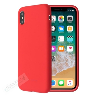 SoSeven Smoothie Silikonový Kryt pro iPhone X/XS Red (EU Blister) 3663111126556